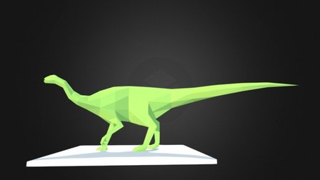Tenontosaurus 3D Model