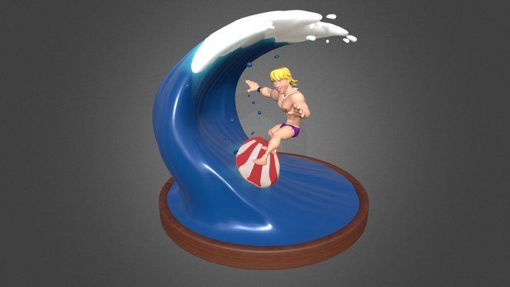 Diorama 01 - Beach 3D Model