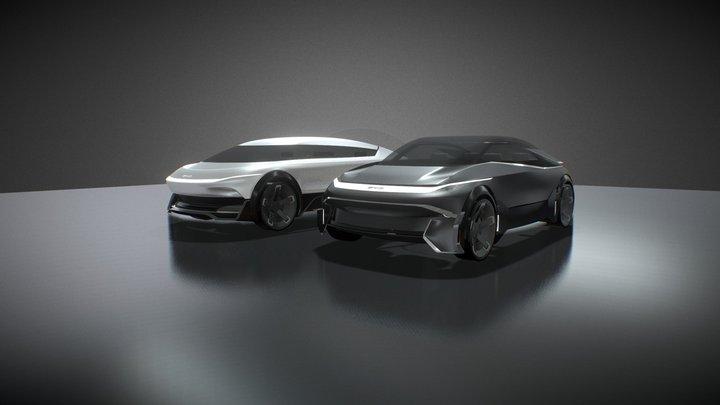 BYD - YinYang Concept 3D Model