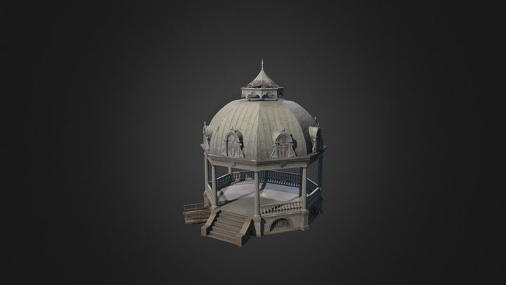 Iolani Palace's Coronation Pavilion 3D Model