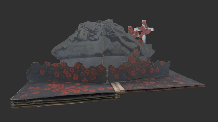 The Poppies (stage set 4 of 5) 3D Model