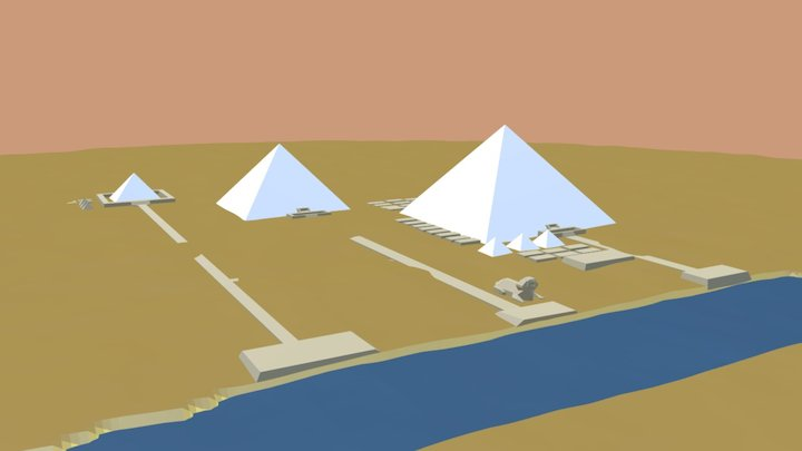 Wonder001-pyramid 3D Model
