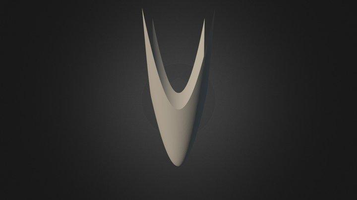Maple DXF 3D Model