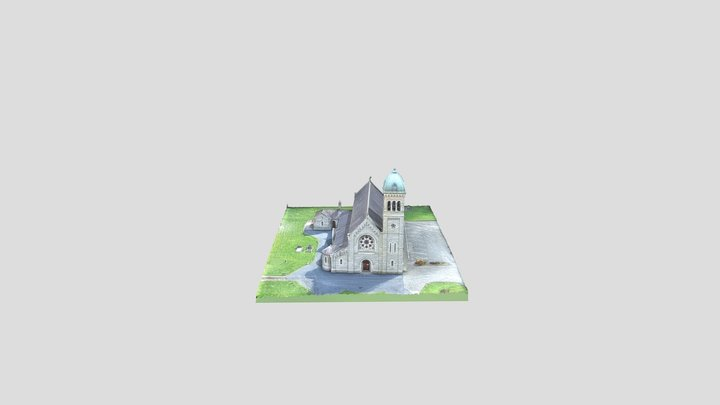 St. Peters Church, Dromiskin, Co. Louth. 3D Model