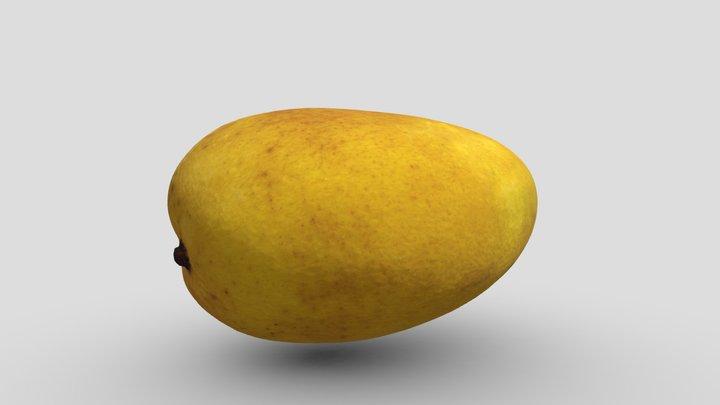 Small Mango #2 3D Model