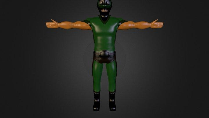 Personaje Obj Zb Nv3 3D Model