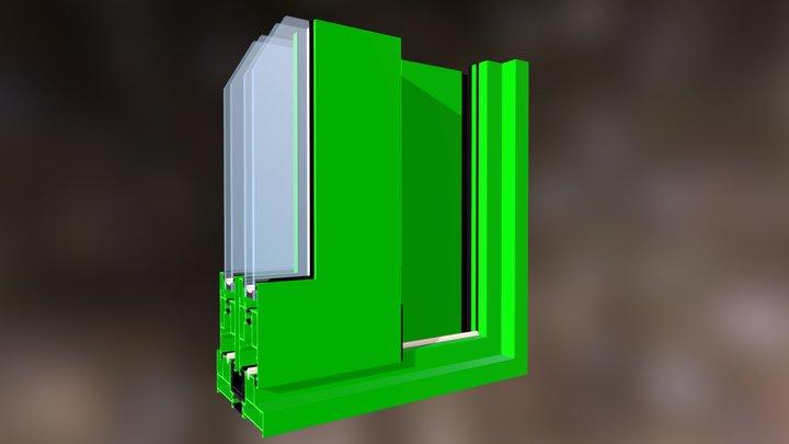 Esquina Q150 3D Model