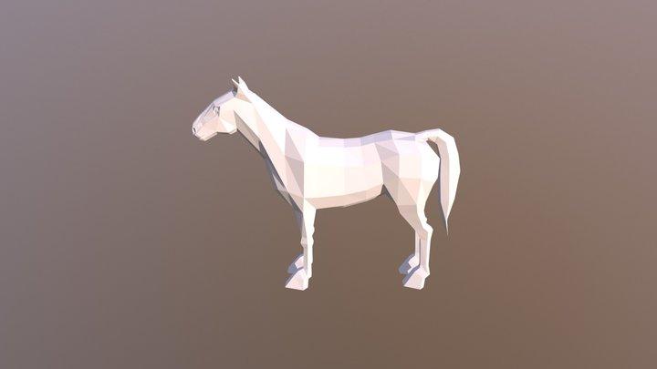 Lowpoly_Horse 3D Model