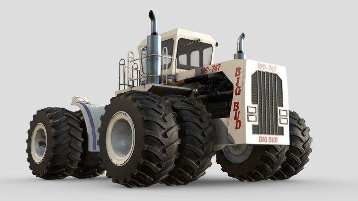 Big Bud 747 Tractor 3D Model