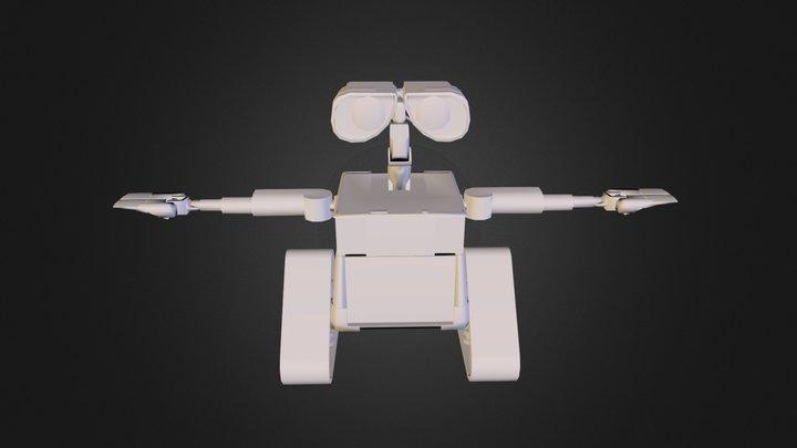 WaLL_E 3D Model