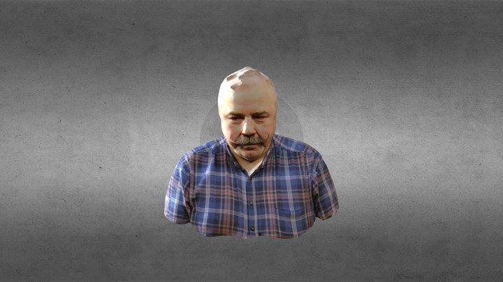 Hans Olav Kvaal 3D Model