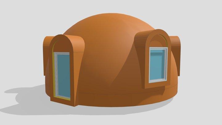 """3d Dome 7m UAB """"SFEROS"""" 3D Model"""
