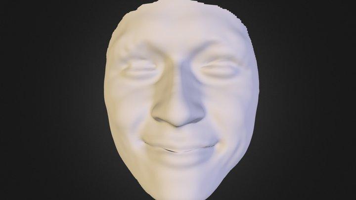 face-08-smile 3D Model