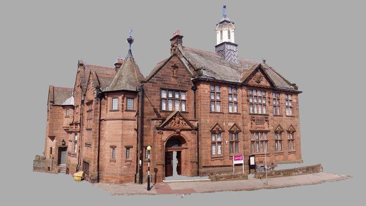 Scotland: Montrose, Public Library 3D Model