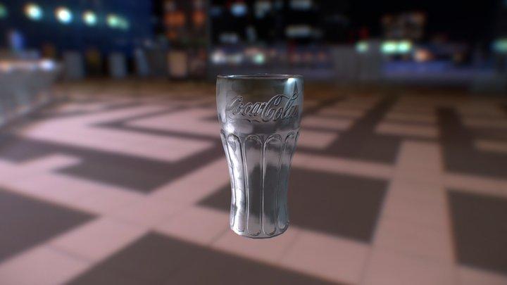 Cola glass 3D Model