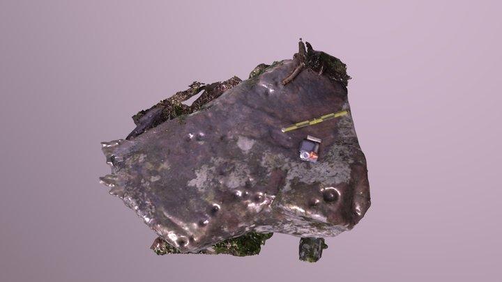Marlbank Gt25 Rock Art 3D Model
