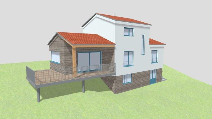 Maison Stéphen Mure Architecte 3D Model