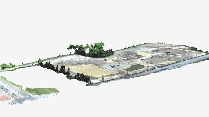 Construction Lot Drone model_simplified_3d_mesh 3D Model