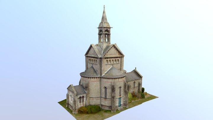 Chapelle Notre-Dame de Beauvais 3D Model