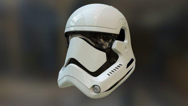 Star Wars 7 Stormtrooper 3D Model