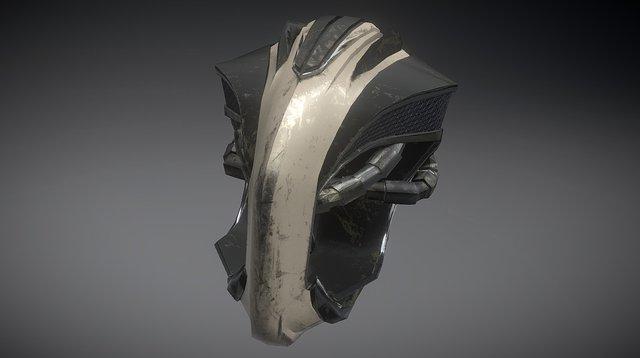 Head_Mech_01 3D Model