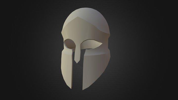 Hoplite Helm V2 3D Model