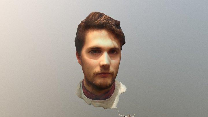 Riku 3D Face 3D Model
