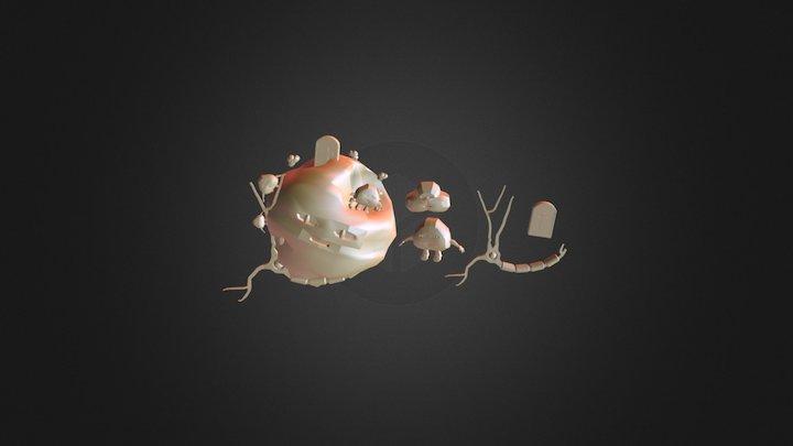 Pessimistic Planet 3D Model
