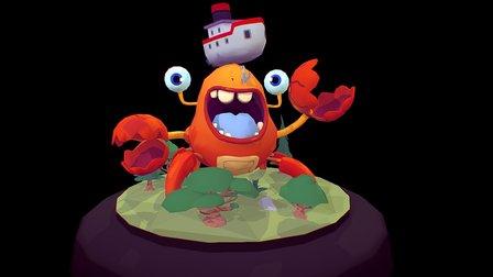 Crabby Test 3D Model