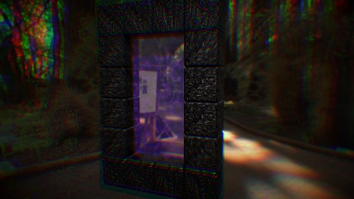 Nether Portal 3D Model