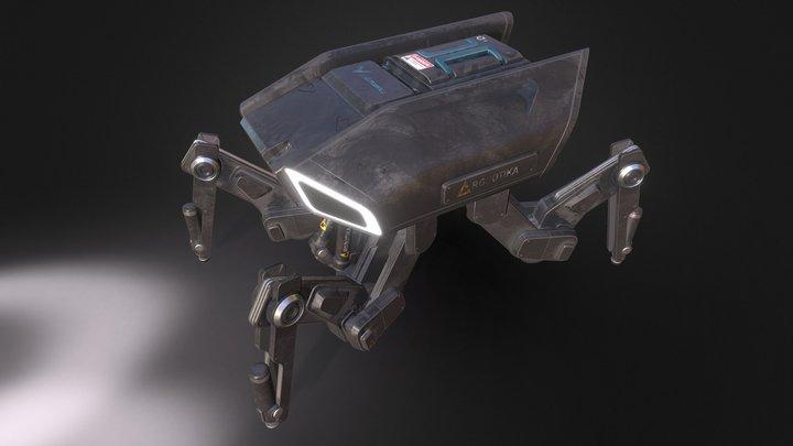 Utility Droid 3D Model