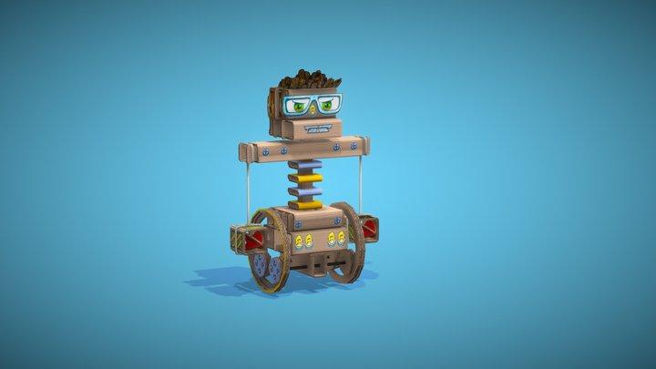 Beasty Bot 3D Model