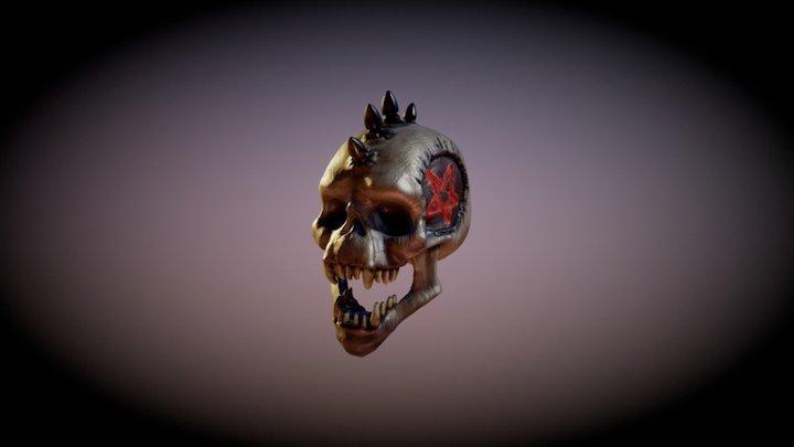 Doom Skull-001 3D Model