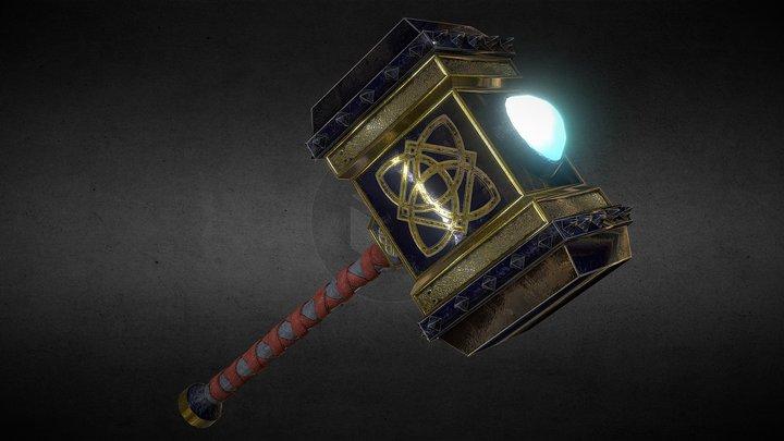 Hammer of War 3D Model