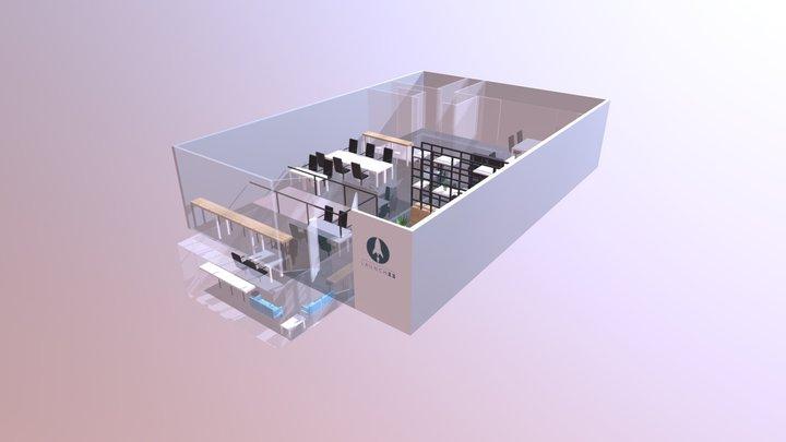 Launch 22 - Poplar 3D Model