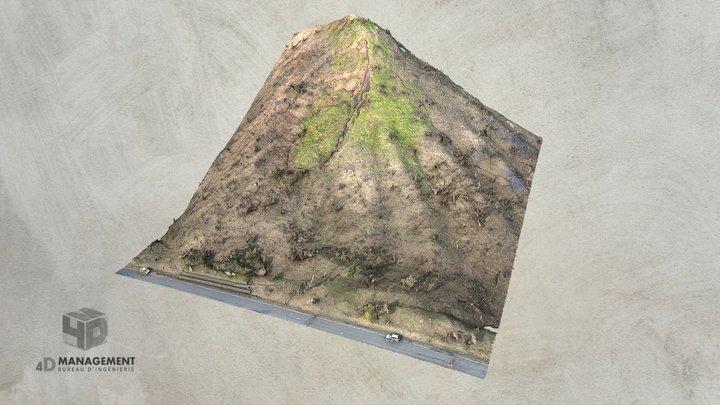 Terril de la Petite Bacnure 3D Model
