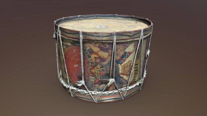 Lucknow Drum 3D Model