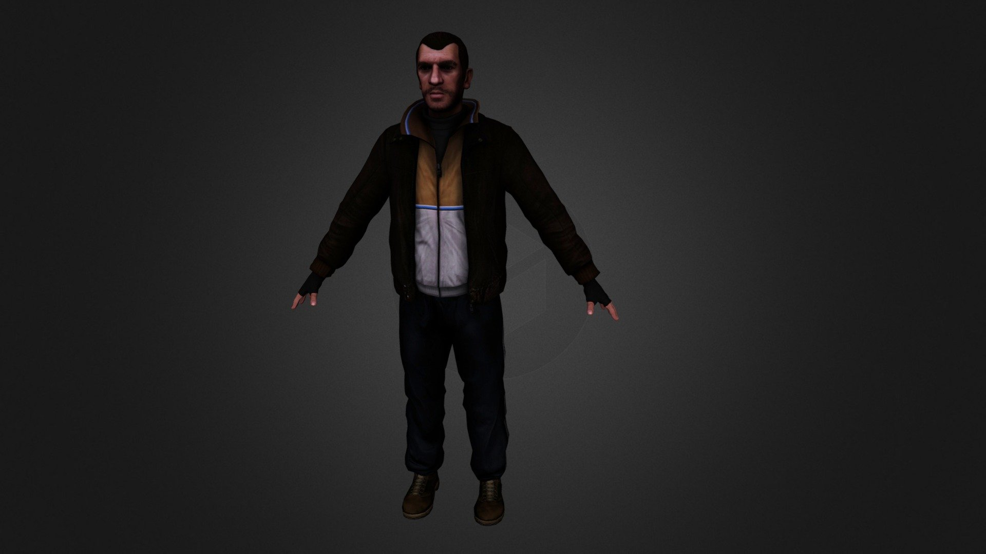 Niko Bellic Gta Iv Download Free 3d Model By Emad Tvk