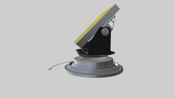 Поворотное устройство для антенн 3D Model