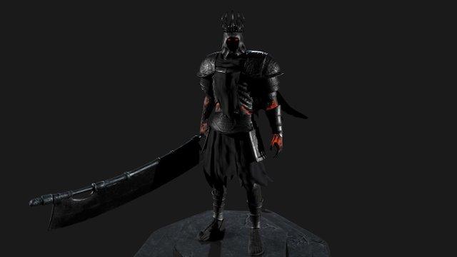 Dark Souls 3 Fan Art 3D Model