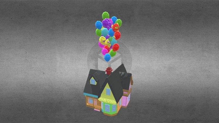 Mr Carl Fredricksen's House 3D Model