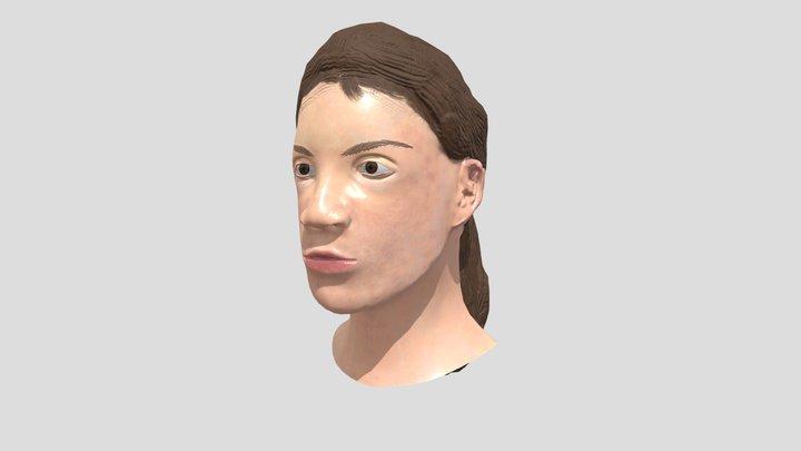 Female Bust 3D Model
