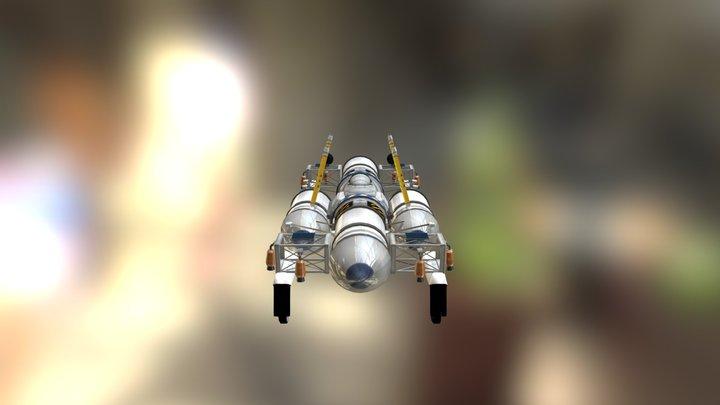 rocket-power-vtol 3D Model