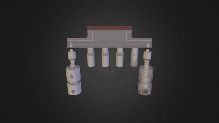 eelktroda dolna 3D Model