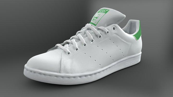 Adidas Originals Stan Smith sneaker 3D Model