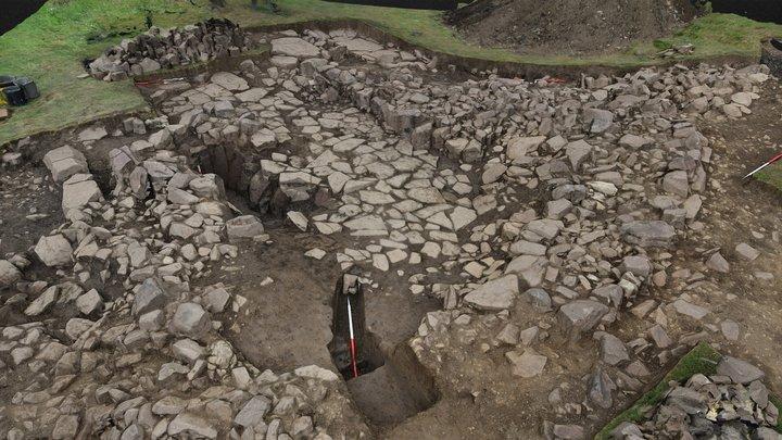 SWAAG HFS19 Excavation Area 2 3D Model