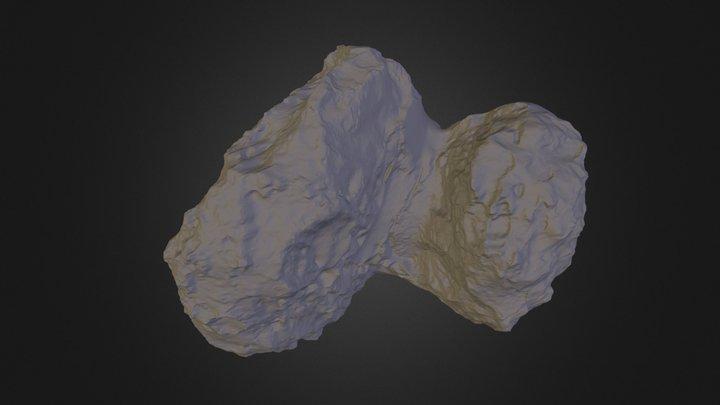 Shape Model #67P 3D Model