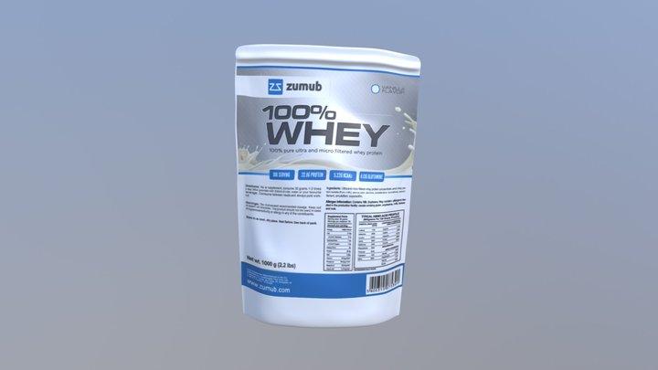 Zumub - Whey 3D Model