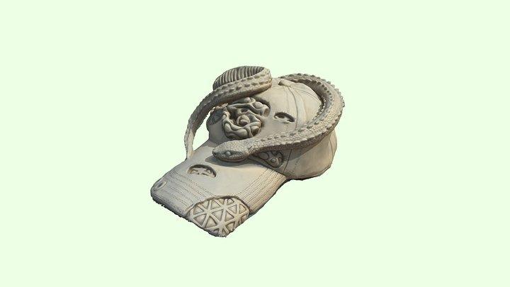 G00GLE HAT ( c l a y ) 3D Model