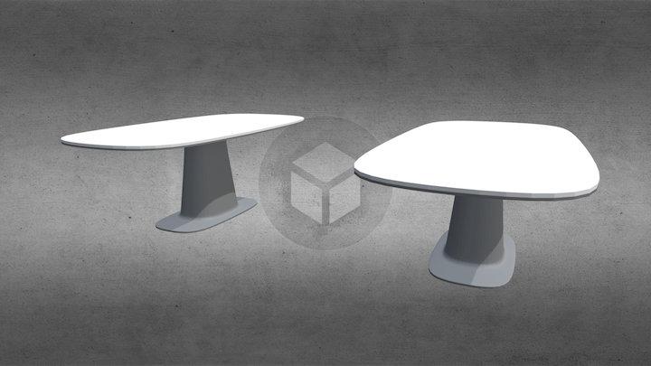 Стол 8950 от Rolf-benz 3D Model